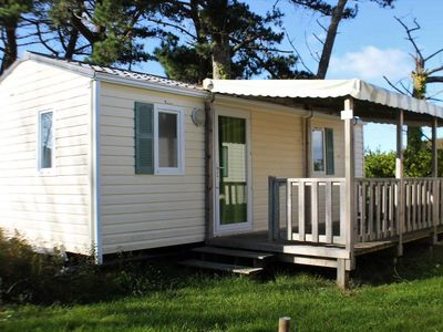 Photo for Camping Kerlaz *** - Mobile Home IBIZA 3 Rooms 4 People
