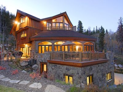 Photo for The Majesty of the Rockies on 5 Luxurious Levels; Hot Tub, Pool Table & More