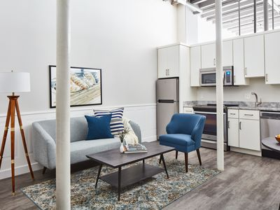 Photo for Sonder | Boston Common | Serene 1BR + Laundry