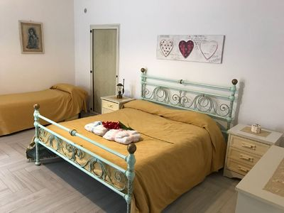 Photo for B & B Pompei House Lovely 80sqm one-bedroom apartment in the heart of Pompeii