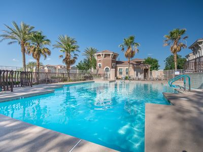Photo for Gorgeous Gated Condo Summerlin Clean Comfort minutes from Strip, Red Rock