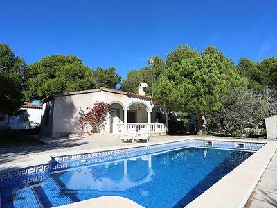Photo for One bedroom Villa, sleeps 4 in l'Ametlla de Mar with Pool and WiFi