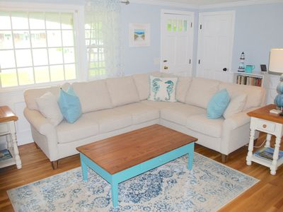 Photo for Walk to Beach - Renovated Cape Cod Ranch - 3 Bed w/ Game Room, Central AC & WiFi