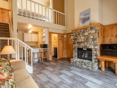 Photo for New Listing! Studio Plus Loft with Elkhorn Hot Tub Just a Quick Walk Away