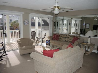 Photo for Family Friendly 2 bedroom, 2 bath, with great resort amenities(1505)