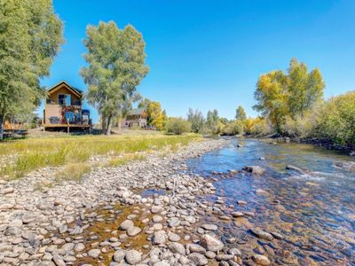 Photo for Year-round haven on the banks of the Fraser River!