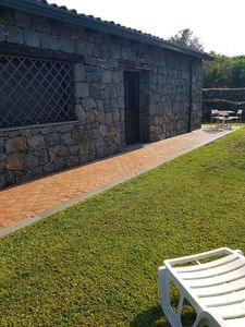 Photo for THE RUSTIC POZZILLO FARMHOUSE IN STONE WITH GARDEN AND POOL TO SHARE