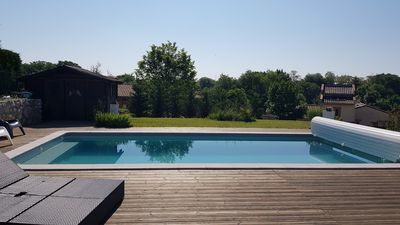Photo for Pleasant contemporary house in Mondonville, near Toulouse and Airport.