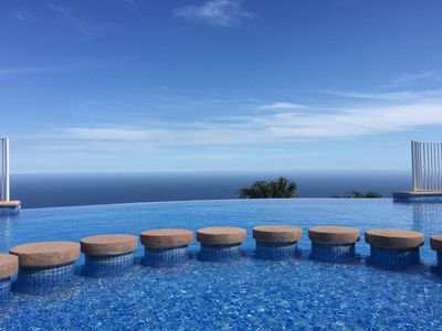 Photo for Panoramic Sea view 2 bedroom Apartment with 2 Communal Pools in Benitachell