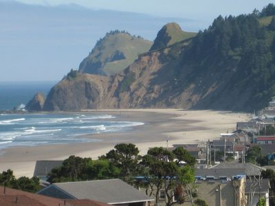 View of Cascade Head from PARADISE FOUND