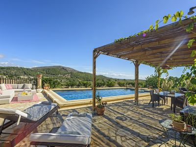 Photo for Son Macia Villa, Sleeps 6 with Pool, Air Con and WiFi