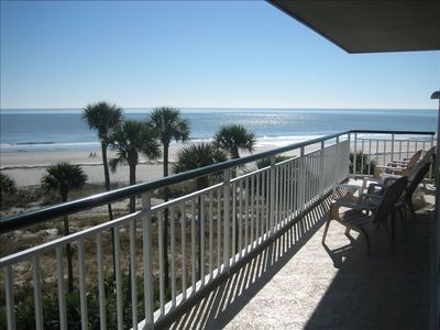 Photo for Best 3BR Oceanfront View in Palmetto Dunes