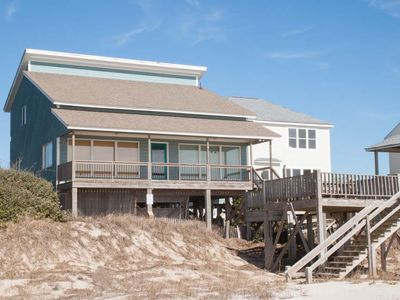 Photo for Great Escape: 4 BR / 2 BA home in Oak Island, Sleeps 17