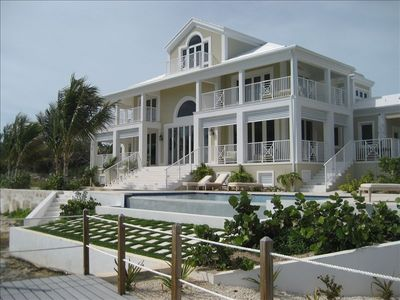 Photo for Stunning Waterfront Home on Great Exuma, Bahamas!