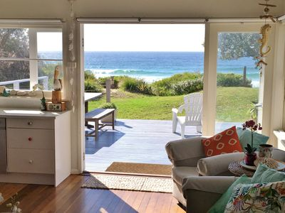 Photo for THE MOOK on Mollymook Beach - Absolute Beachfront Cottage *Avail June LWE*