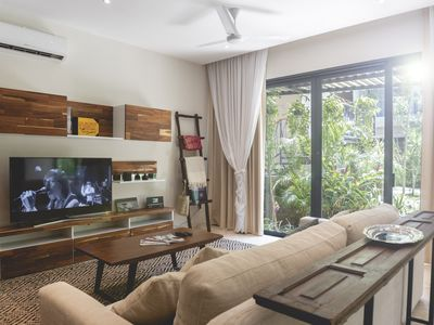 Photo for Surrounded by jungle and modernity dept. 3 bedrooms, Ki Tulum