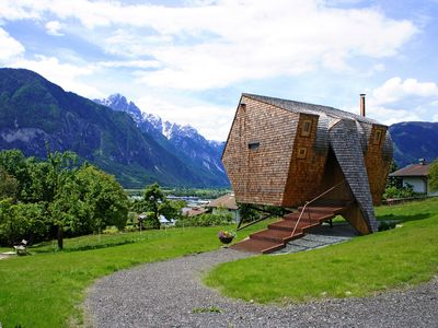 Photo for Floating vacation home made from wood — Ufogel