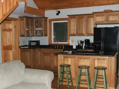 Well appointed spacious kitchen allows more than one person to be cooking