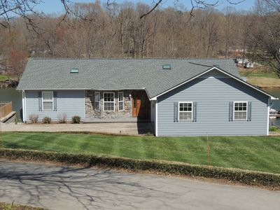 Photo for Big Summer Savings! Private dock, hot tub, game room, fire pit & more!