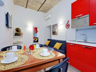 Photo for JAZZ HOUSE Jazz inspired apartment in the Esquilino area with 2 bedrooms