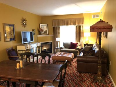 Photo for Hunter Mtn Mint Condo: Ziplining, Pool, Gym, Hiking