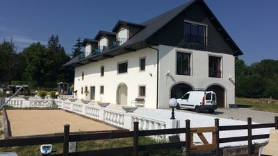"Photo for Manor style ""de luxe"" farmhouse between Geneva and Annecy close to ski resorts"