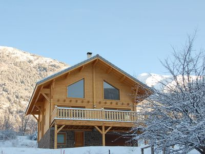 Photo for Modern wooden chalet and comfortable