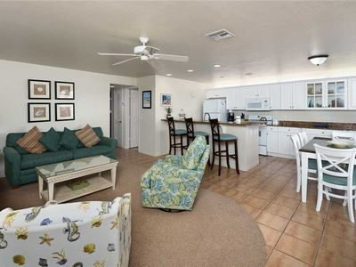 Photo for Unit F2: 2 BR / 2 BA beach front in Sanibel, Sleeps 6