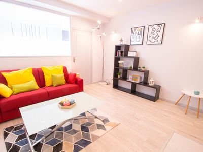 Photo for LUMINOUS APARTMENT IN THE SAINT-FARGEAU DISTRICT IN PARIS FOR 4 PEOPLE