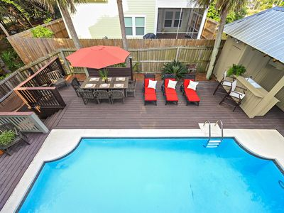 Photo for PRIVATE POOL! WALK TO BEACH! OCEAN VIEWS! ON 30A!!