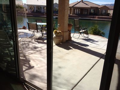 Photo for Beautiful waterfront home with boat dock on lake next to river. 3 bedroom 2 bath