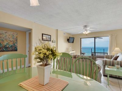 Photo for Beach Service Included! Gulf Front Master! Wifi Included! Located on Thomas Drive! Regency Towers!