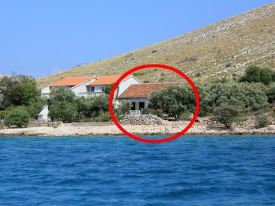 Photo for House in Suha Punta (Kornati), capacity 4+2