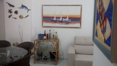 Photo for Apt of 3 bedrooms, decorated and furnished, near the beach