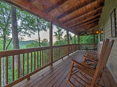 Photo for Peaceful Maggie Valley Cabin w/Panoramic Mtn Views