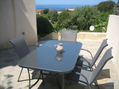 Photo for BEAUTIFUL APARTMENT GARDEN SEA VIEW LARGE TERRACE IN VILLA Architect