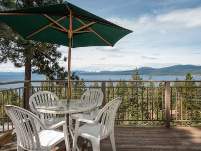 AWESOME VIEW! We hope you choose TAHOE TRANQUILITY.