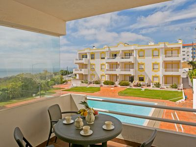 Photo for Mar-à-vista (Pool & Sea View) Families & Couples - Apartment for 4 people in Ericeira