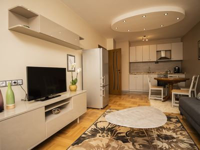 Photo for Modern apartment, metro nearby, own parking place