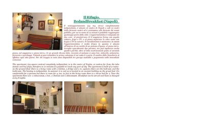 "Photo for ""The shelter"". B & B (Naples) Mini-apartment (24 sqm) with 2 double rooms"