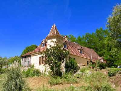 Photo for Beautiful Farmhouse with Private Pool, Extensive Gardens & Walnut Orchard