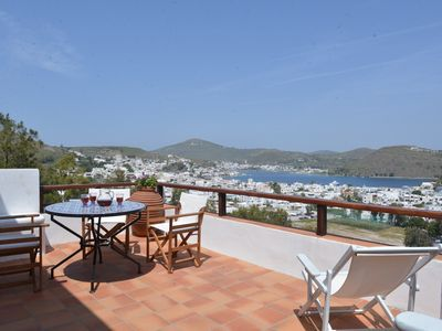 Photo for Picturesque house with stunning sea view, next to Apocalypse Cave, Patmos
