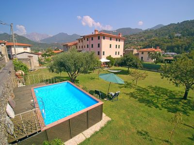 Photo for House with Private Garden, Pool, WIFI, 6 People, near Sea and Forte dei Marmi