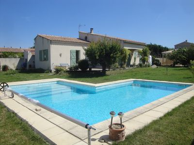 Photo for Pretty rental with private pool in the village of Mouriès, Alpilles