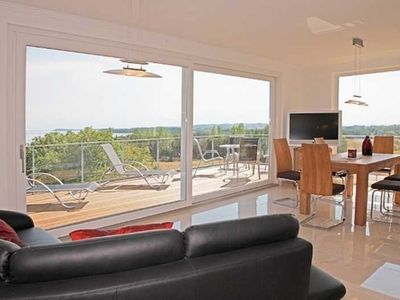 Photo for Penthouse 5 - Villa Ostseeblick 5 * with sea and Boddenblick