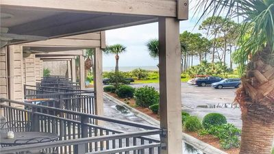 Enjoy ocean views and convenient location to the best of Hilton Head
