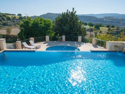 Photo for Skoulli Villa, Sleeps 8 with Air Con and WiFi