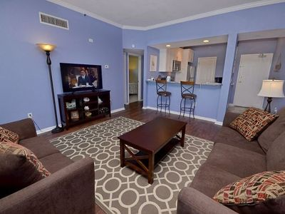 Photo for Comfy San Remo Condo w/ Large Balcony, Free WIFI & Gulf Front Complex Pool