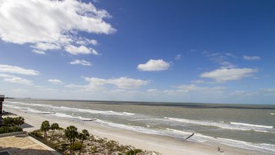 Photo for Incredible Water Views From This Beach Front Condo!
