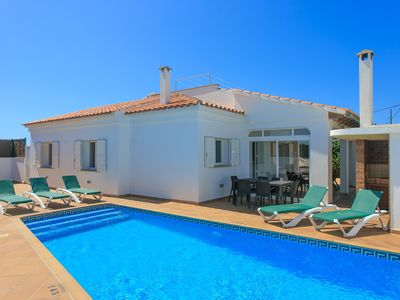 Photo for Villa Evelyn: Large Private Pool, Walk to Beach, A/C, WiFi, Car Not Required